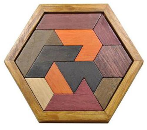 Details About Iq Puzzle Mind Brain Teaser 2d Wooden Puzzles 3d Educational Game Wooden Toys