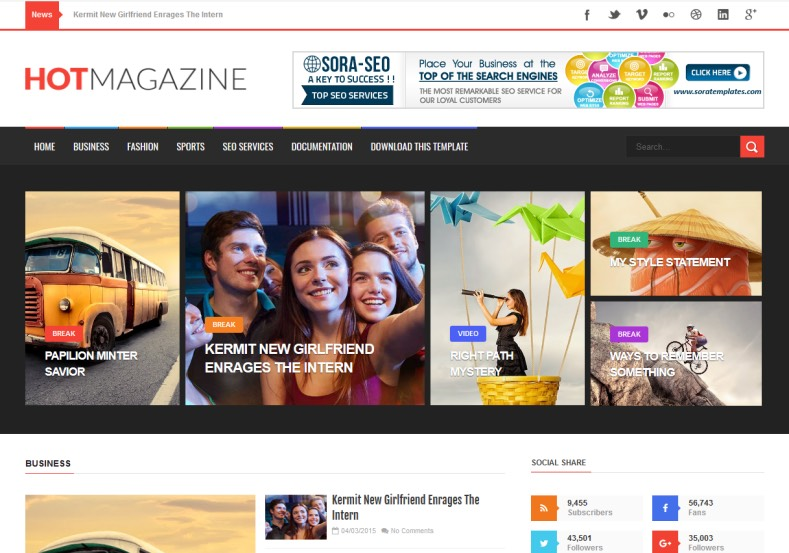 Hot_Magazine_Blogger_Template