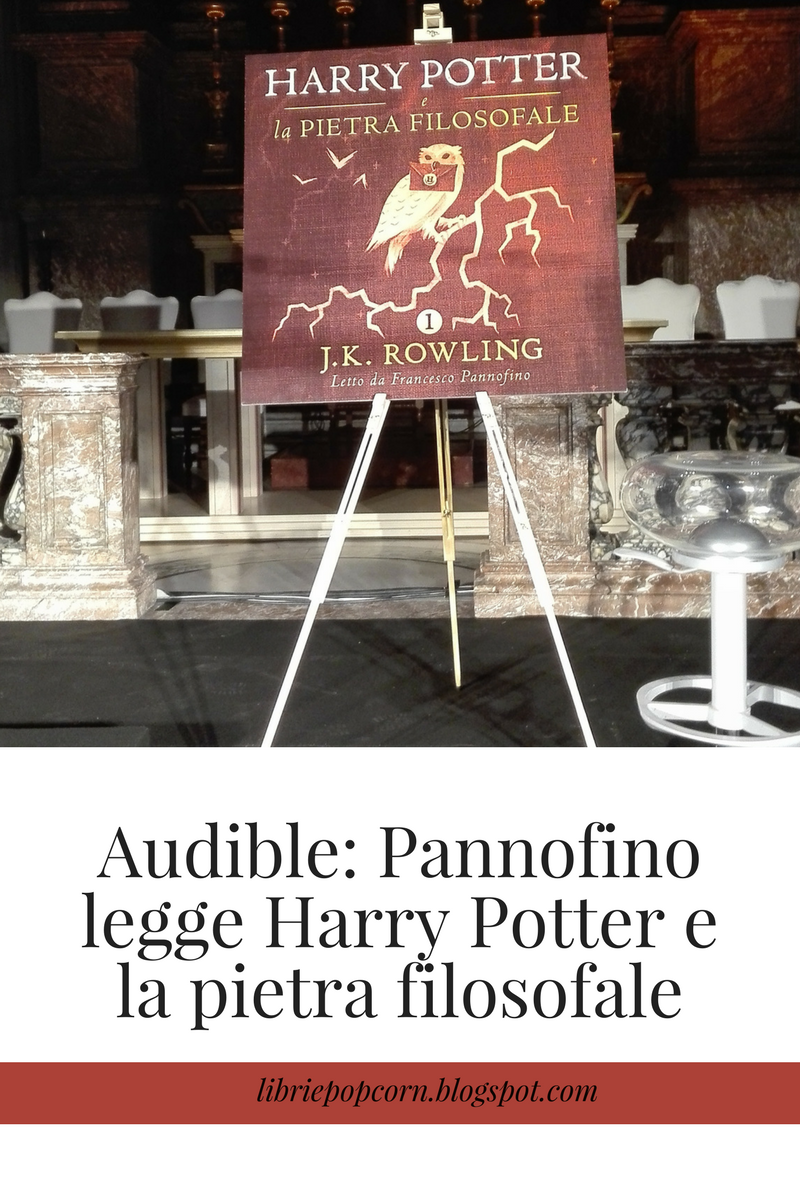 Audible: Pannofino legge Harry Potter e la pietra filosofale