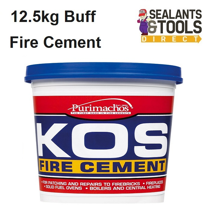 Everbuild Kos Fire Cement Buff 12.5kg PCKOSFIRE12