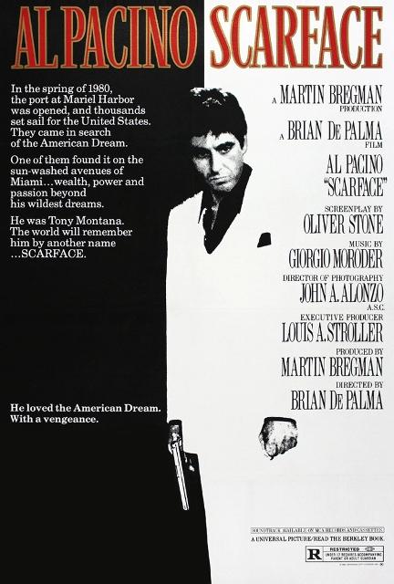 Scarface (1983) BluRay 720p 1.3GB
