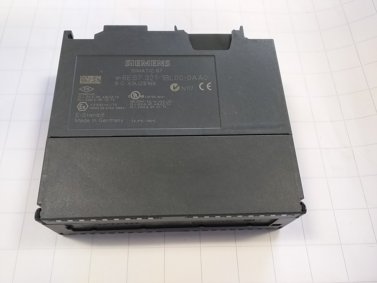 Siemens 6 es7 321 digital input module sm321 2