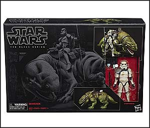 Star Wars The Black Series Dewback and Sandtrooper 6-Inch Scale Action Figures