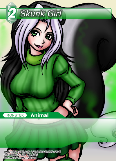 Monster Girl Collectible Card Profiles: Villainesses! - Page 3 Skunk_Girl