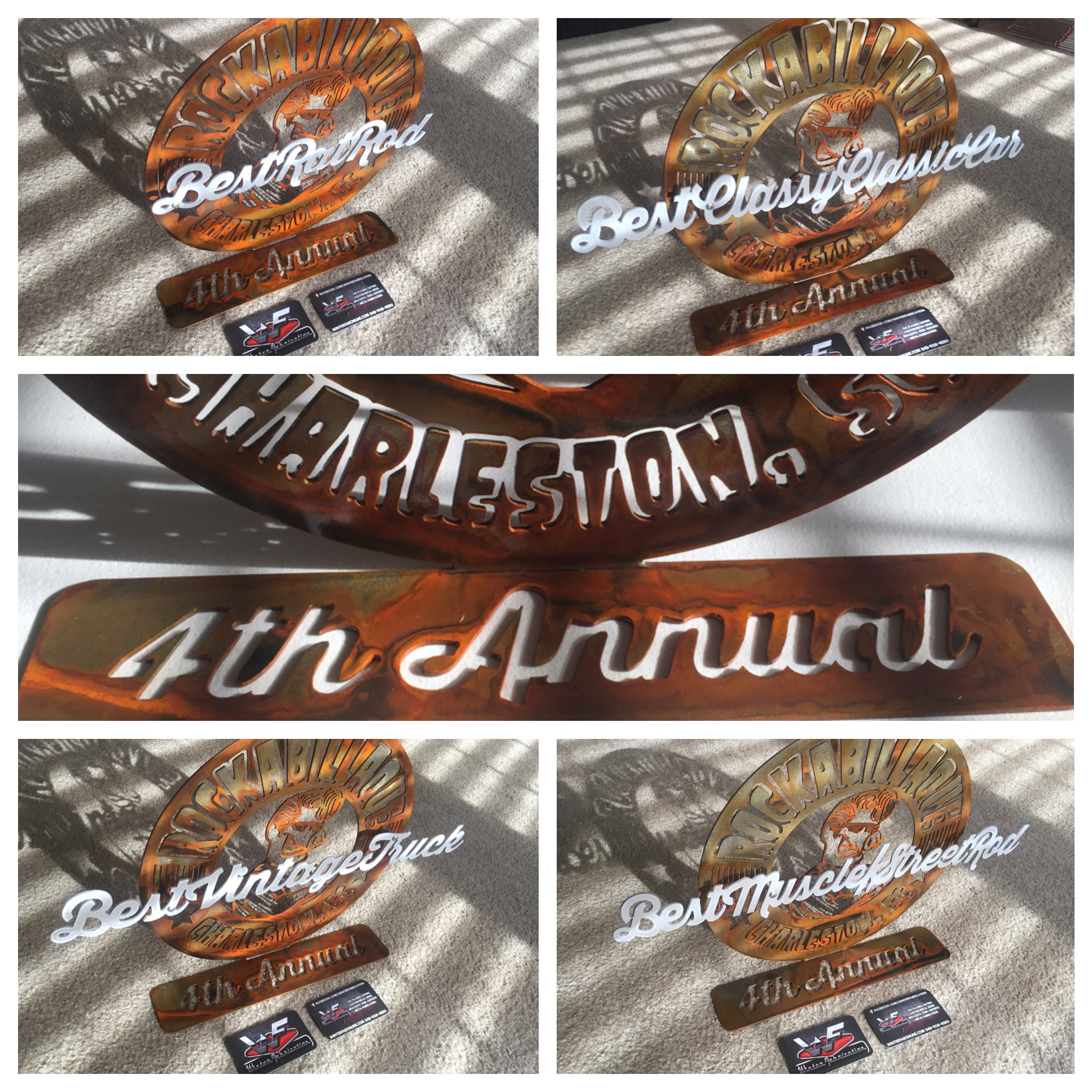 Custom Car Show Event Awards Winter Fab Online - Car show awards