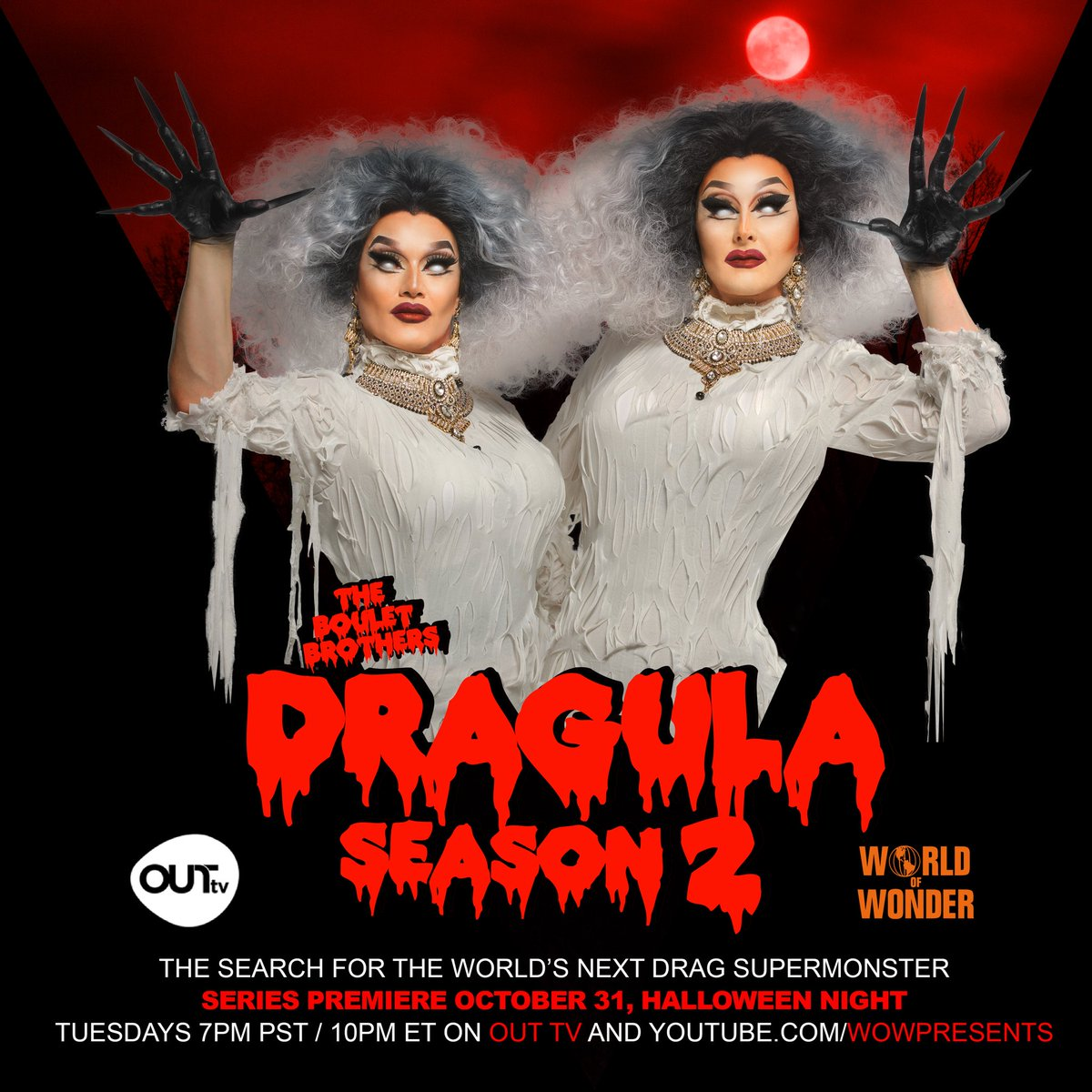 The Boulet Brother's Dragula Season 2