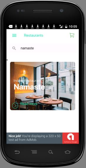 Multi Restaurants IONIC 3 + FIREBASE App / WITH SUPER ADMIN BACKEND/ Download