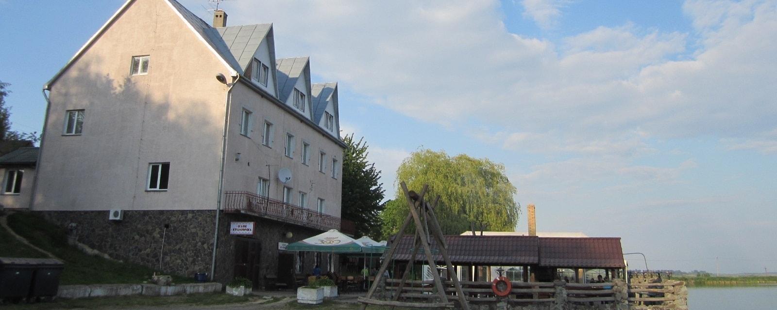 База відпочинку Альбатрос неподалік Львова у селі Воля-Гомулецька