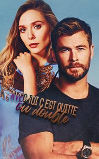 Elizabeth Olsen & Chris Hemsworth [avatars] Leandre02