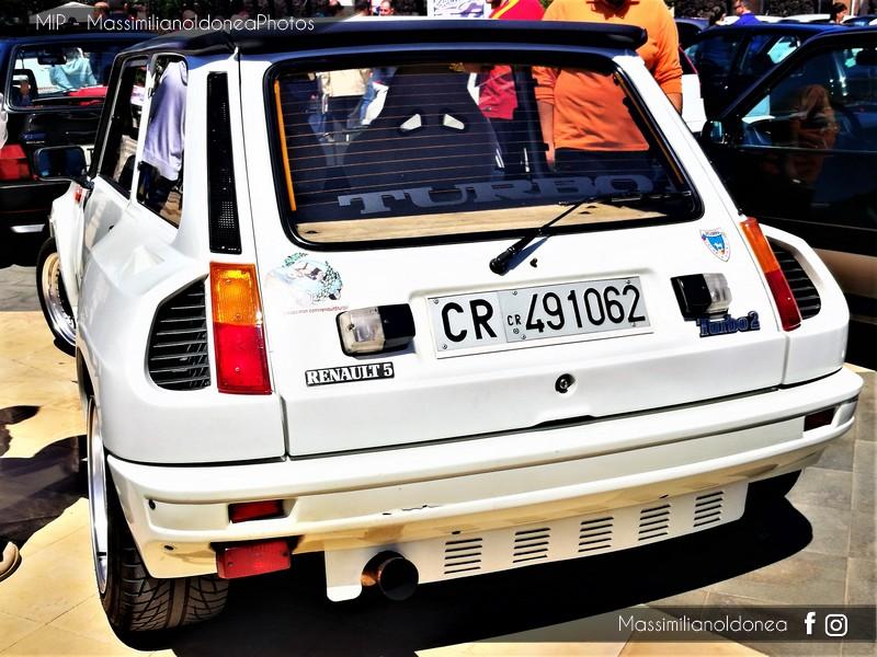 6° Festa dei Motori - Piazza Vicerè, Catania Renault_5_Turbo_2_1_4_160cv_CR491062_61_091_25_11_2017_1