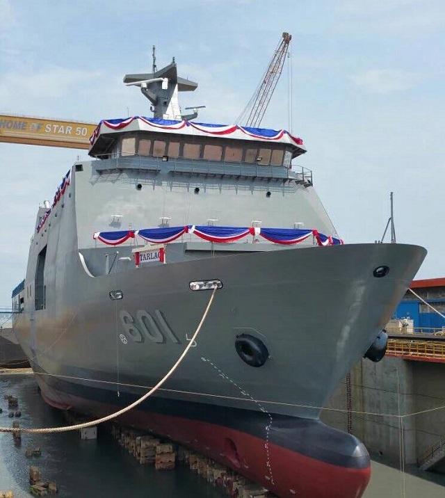 Tarlac Class SSV LPD Philippine Navy801