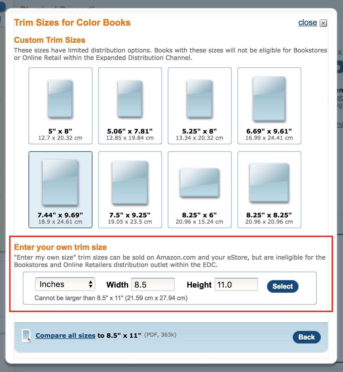 CreateSpace Community: Simple CreateSpace Book Calculator