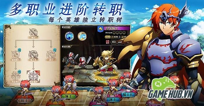 Langrisser - SRPG siêu cổ của Nhật bất ngờ lộ diện bản Mobile - ảnh 2