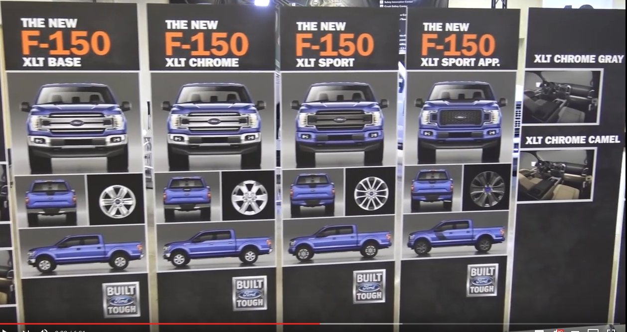 2018 F150 Forums >> 2018 F150 OEM Grill & Wheel Options | Press Event Screen Captures - Ford F150 Forum - Community ...