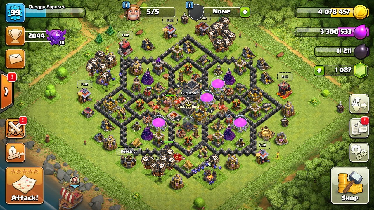 how to create multiple clash of clans accounts