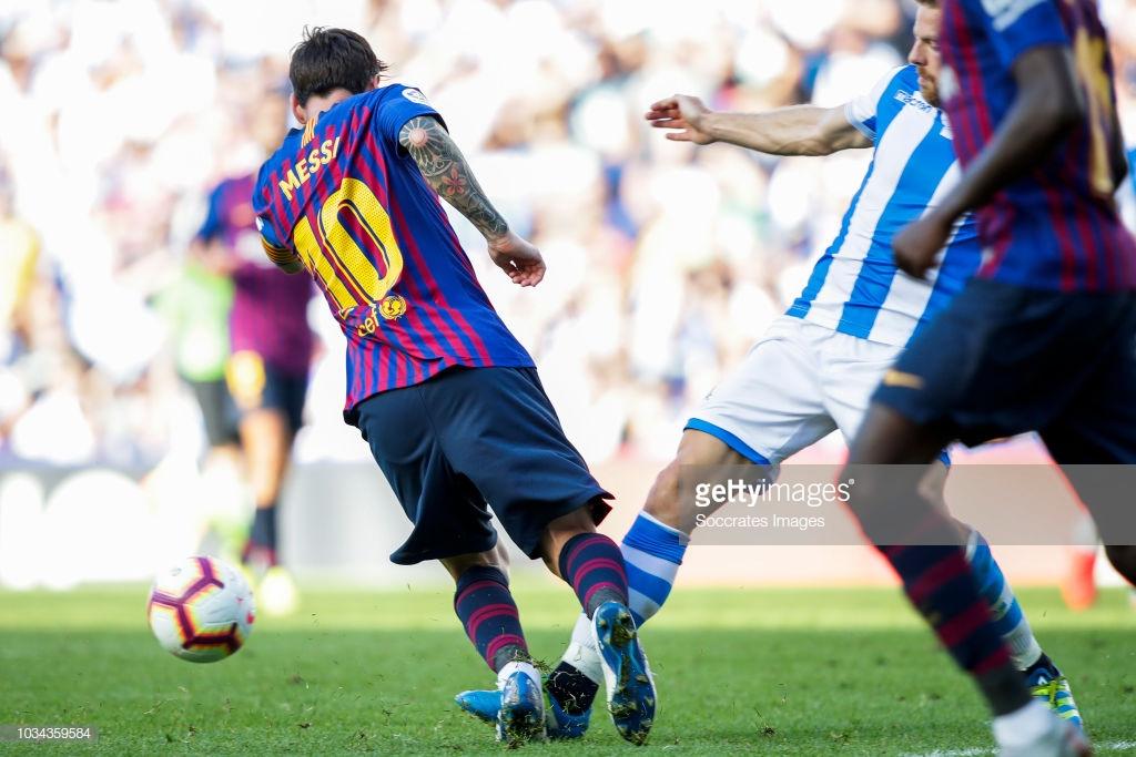 صور مباراة : ريال سوسيداد - برشلونة 1-2 ( 15-09-2018 ) I
