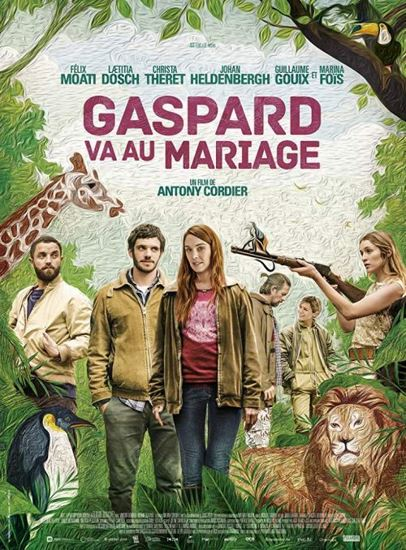 Gaspard jedzie na ślub / Gaspard va au mariage (2017) PL.WEB-DL.XviD-KiT   Lektor PL