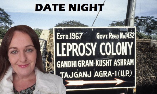 leper colony sign