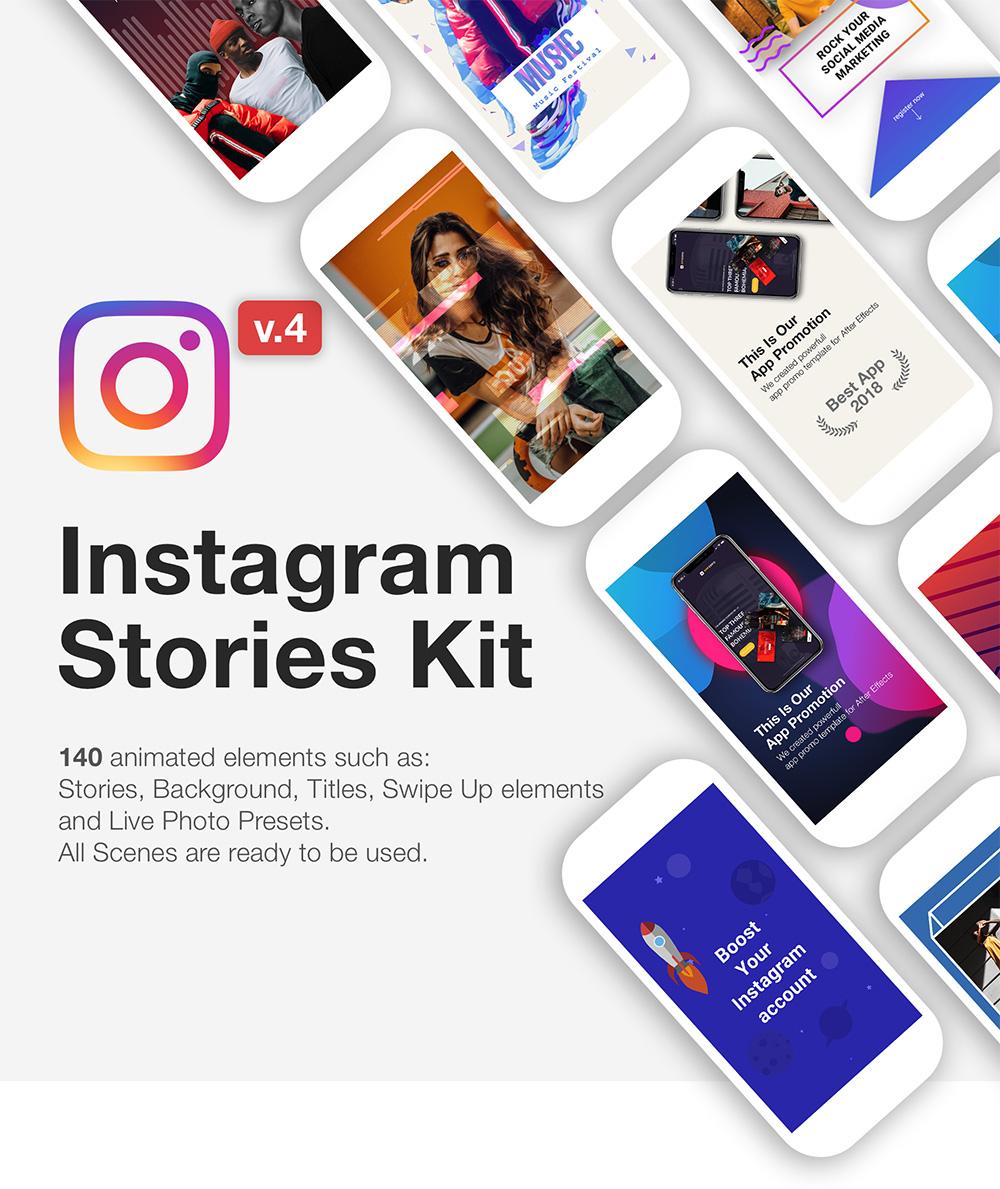 Description Design small.jpg - AE模板:H5社交媒体动画Instagram Stories包 - V4升级版