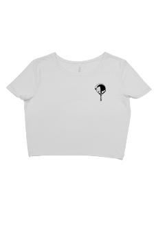 womens tshirts crop tee