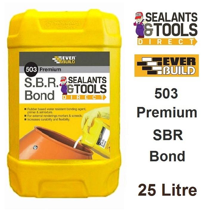 Everbuild 503 SBR Bond 25 Litre SBRB25