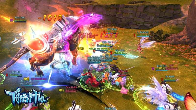 PK đã trở thành thú vui không thể thiếu của game thủ trong Thiên Hạ Gamota