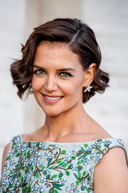 NEW YORK NY MAY 21 Katie Holmes attends the 2018 American Ballet Theatre Spring Gala at The Metropol