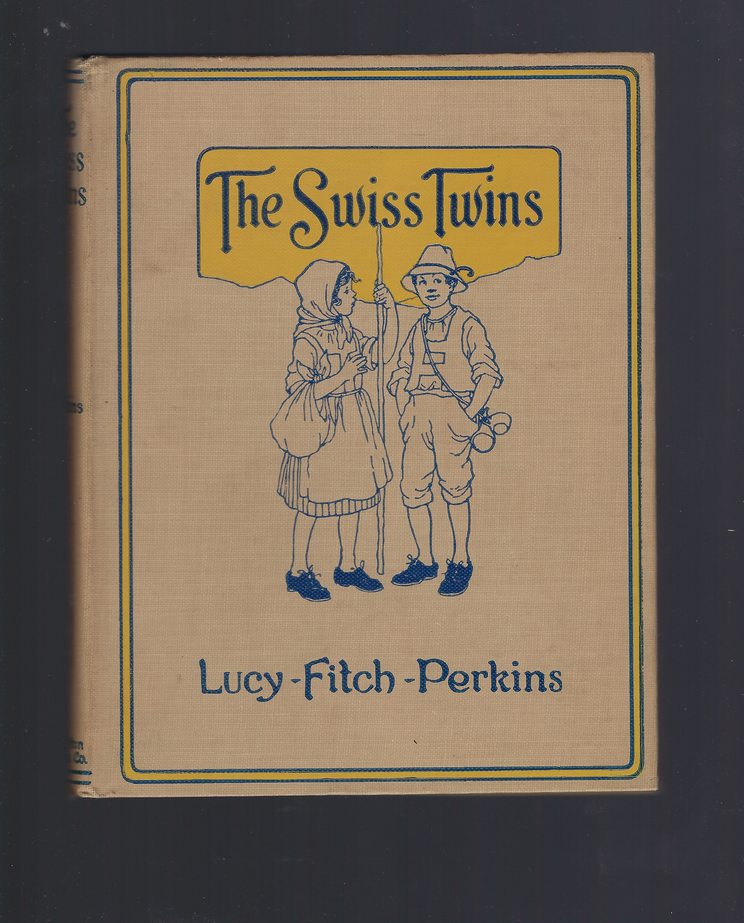 Signed The Swiss Twins Lucy Fitch Perkins, Lucy Fitch Perkins