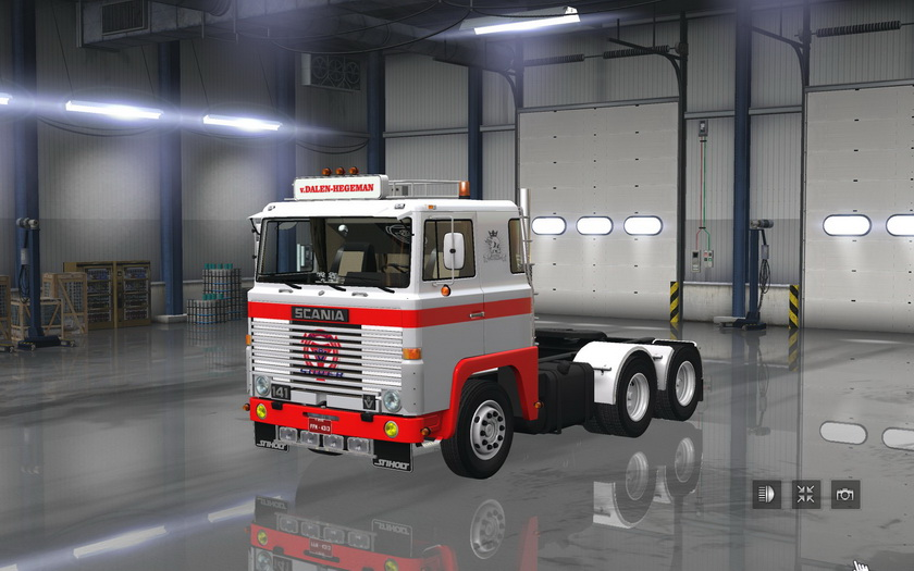 Scania 1 Series v 2.0 for ATS 1.6.x