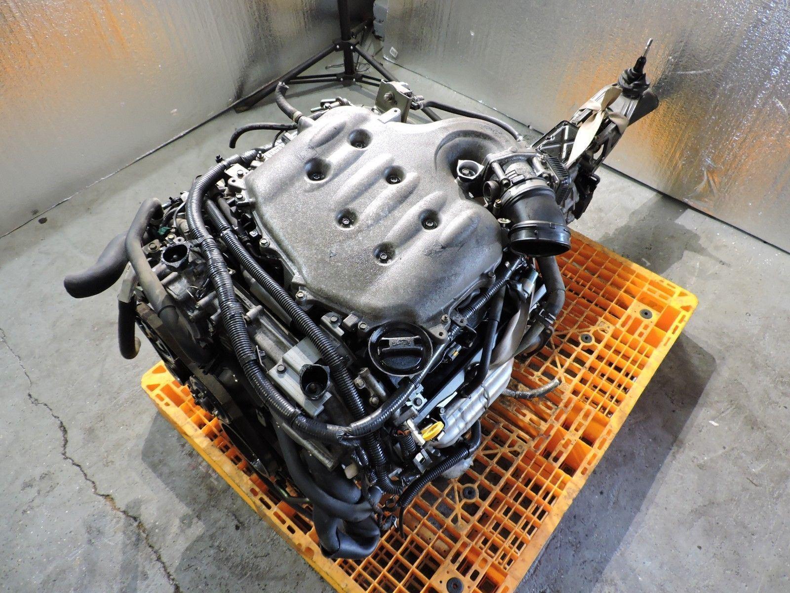 Details about Nissan 350Z Infiniti G35 3 5L VQ35DE 6 Speed Manual JDM Swap  w FREE SHIPPING