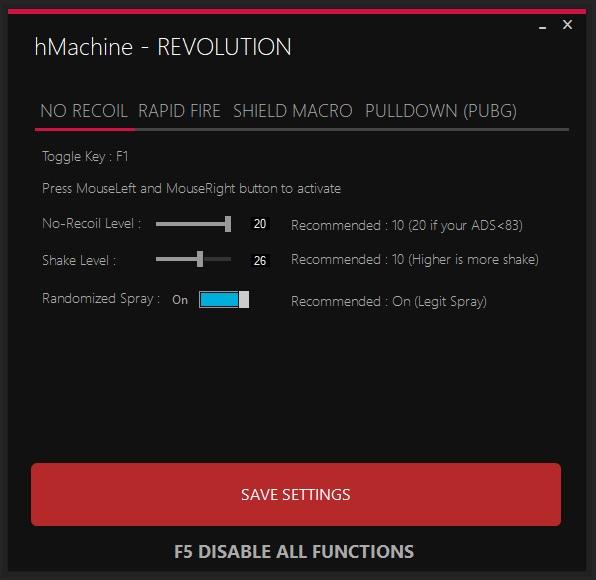 Recoil macro pubg | [UNDETECTED] The BEST PUBG no recoil macros