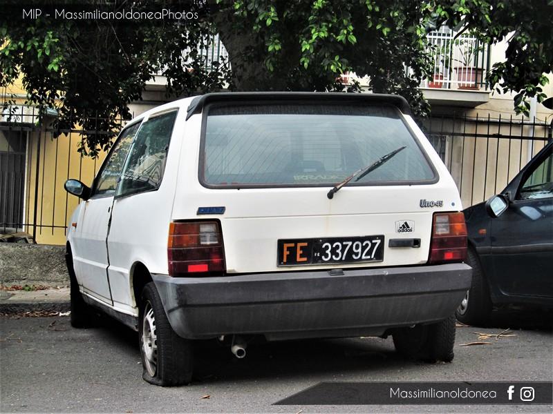 Auto Abbandonate - Pagina 5 Fiat_Uno_45_900_45cv_12_MAGGIO_83_FE337927