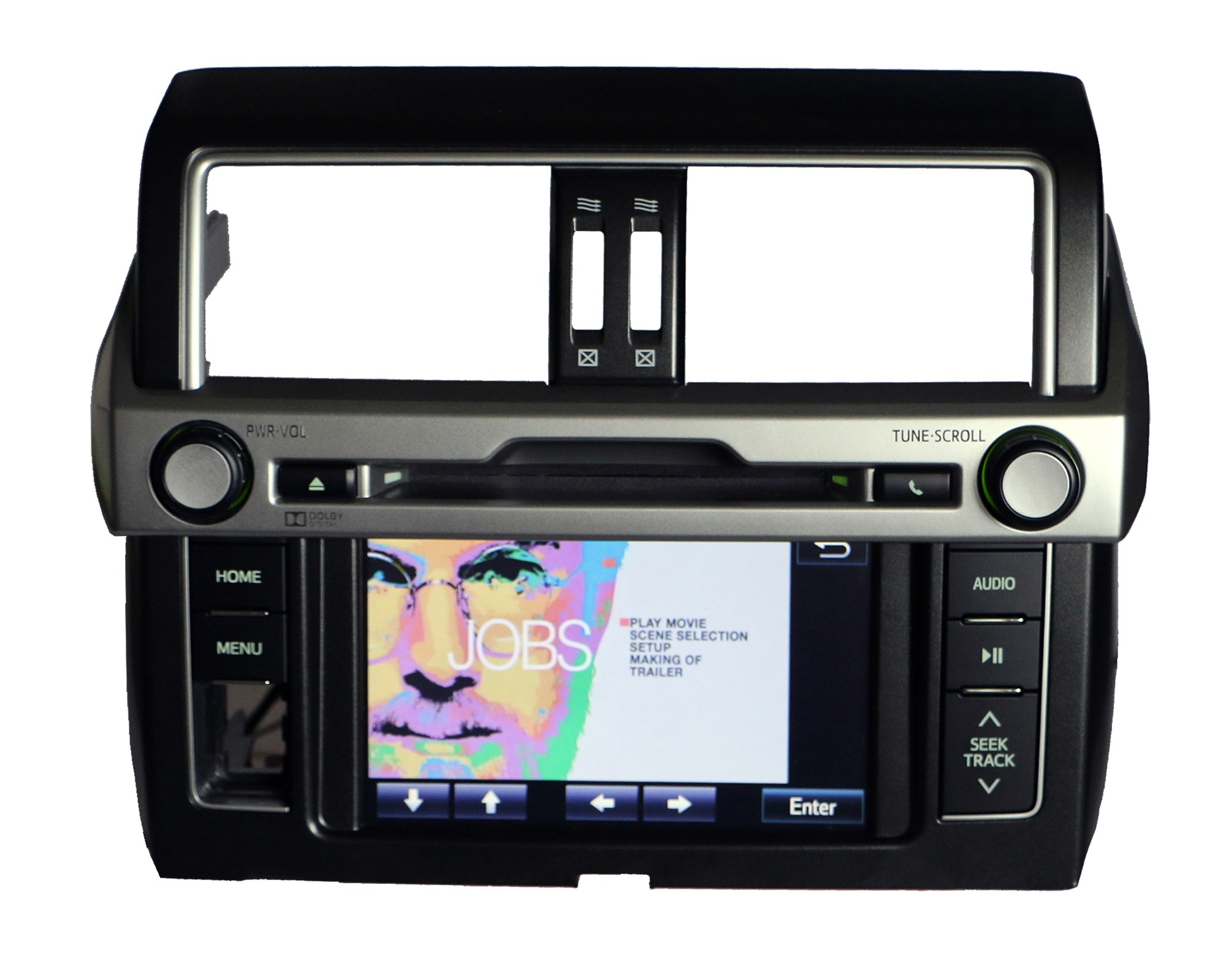 toyota land cruiser prado radio dvd player bluetooth