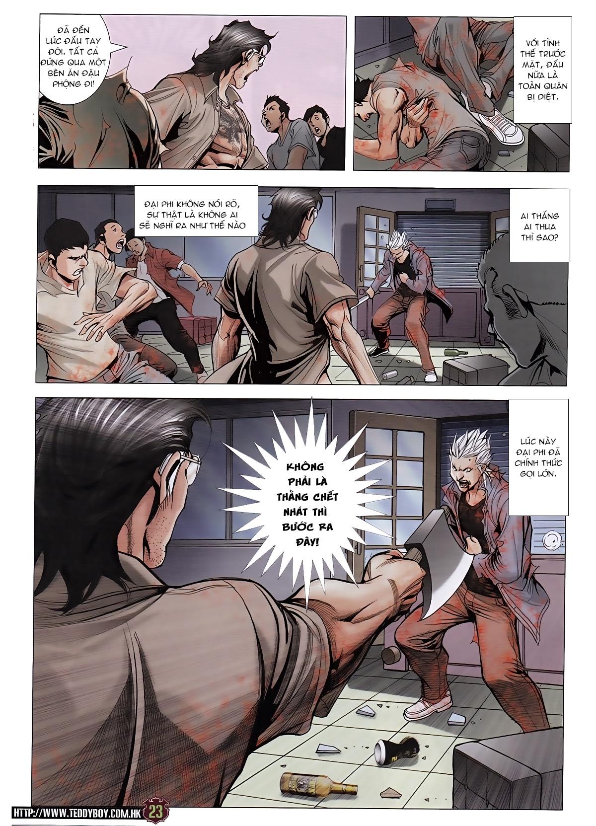 Người Trong Giang Hồ chapter 1963: đấu tử tử đấu trang 21