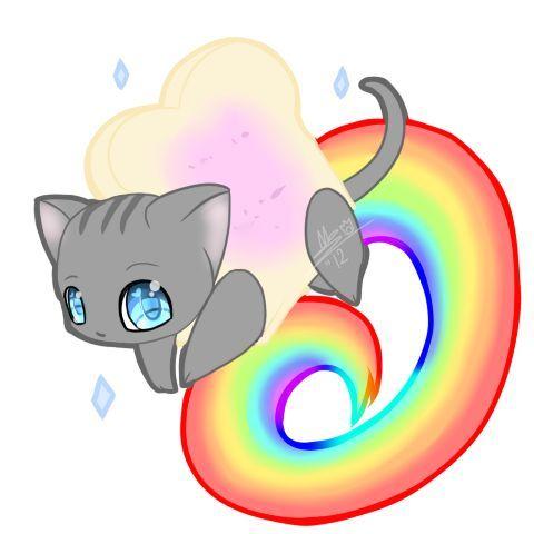 b6d81f412903bbc049f2ea3a017598cb neon cat pusheen cat