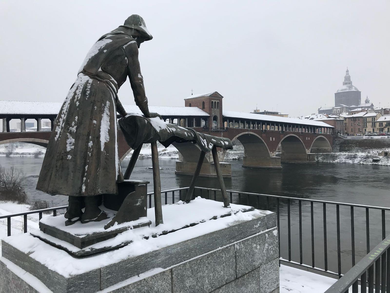 L'ultima: la neve di Marzo 2018!