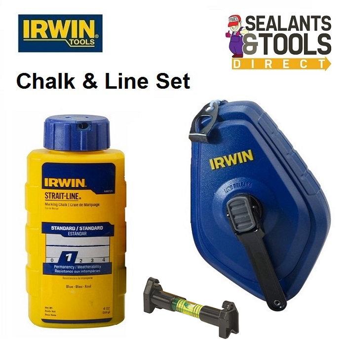 Irwin XMS17CHALK Chalk Line Set
