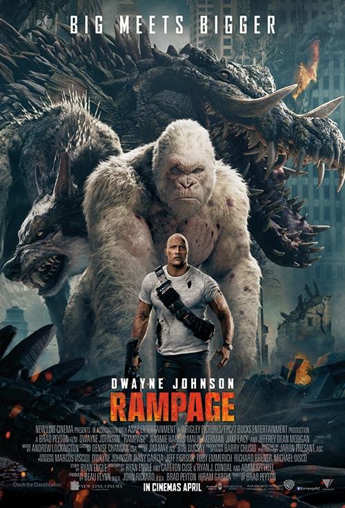Rampage (2018) BluRay 720p 900MB