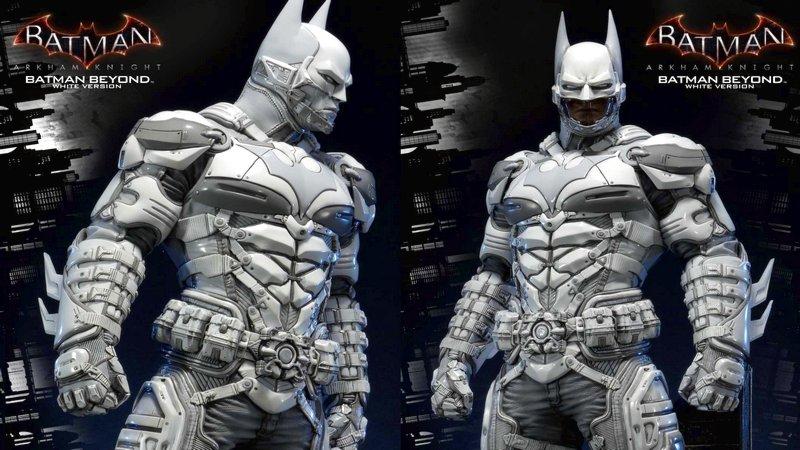 batman, batman beyond, batman beyond white, batman: arkham knight, game batman, game batman 2017, game hành động, mô hình game, mô hình đồ chơi, prime 1