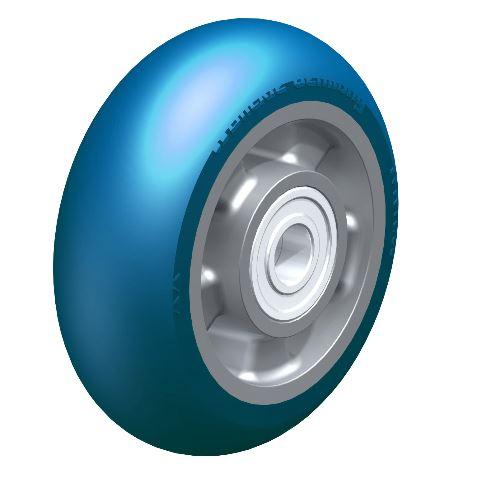 BYALBS 150/20K-CO ALBS 150/20K-CO Blickle  Heavy duty wheel with Blickle Besthane® Soft polyurethane tread with aluminum wheel center thumbnail image