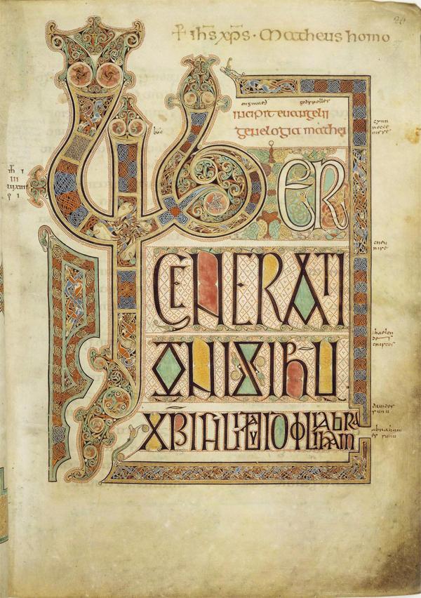 Western Religious Calligraphy