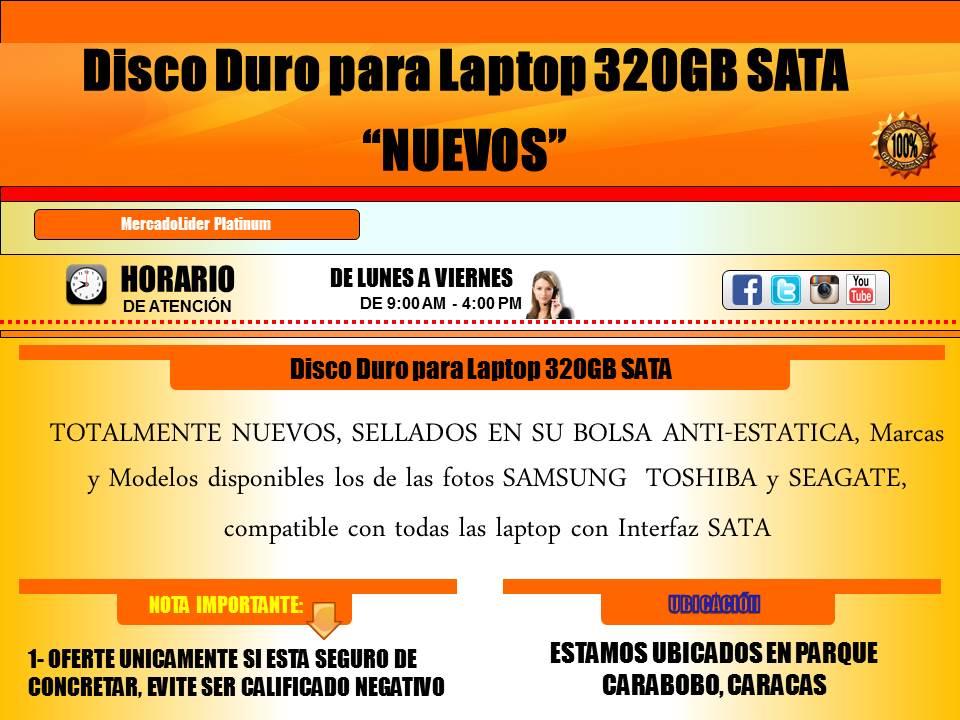 Disco 320GB 1