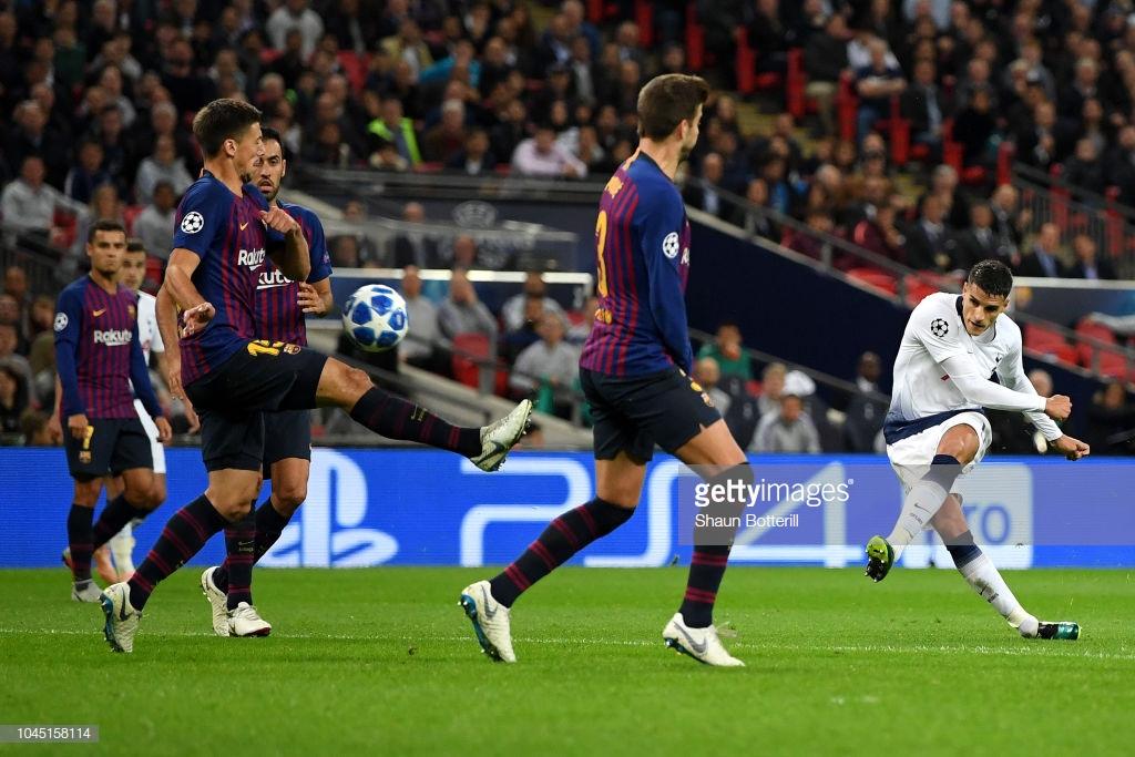 صور مباراة : توتنهام - برشلونة 2-4 ( 03-10-2018 )  T3