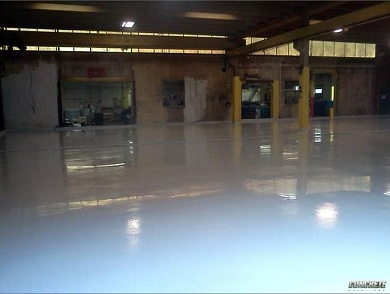 Durable with Epoxy flooring from Kansas City Concrete Solutions