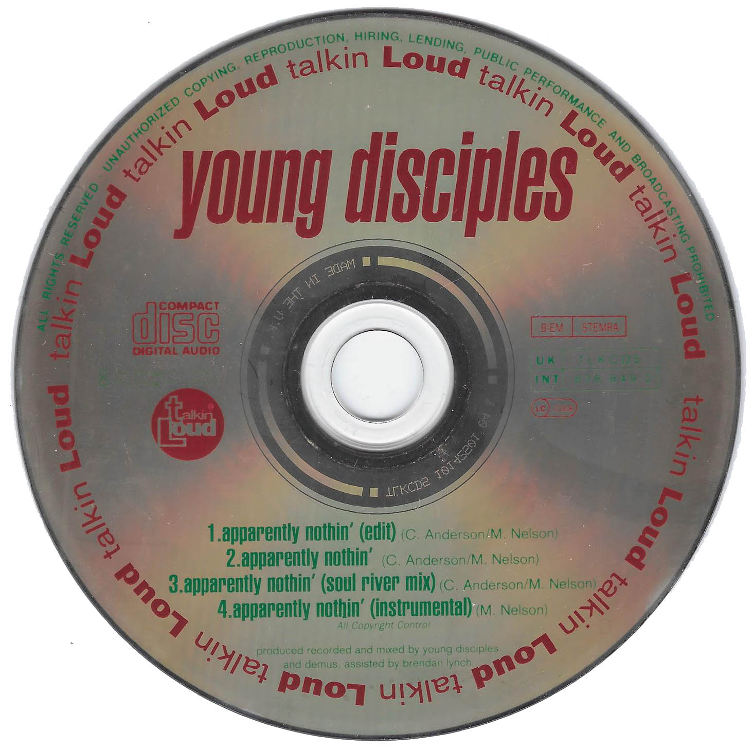 Young_Disciples_Apparently_Nothin_CD
