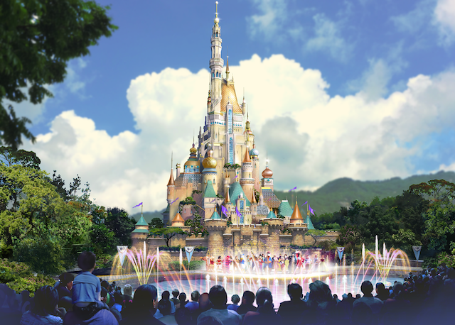 [Hong Kong Disneyland] Nouveau Sleeping Beauty Castle (2020) - Page 5 W852