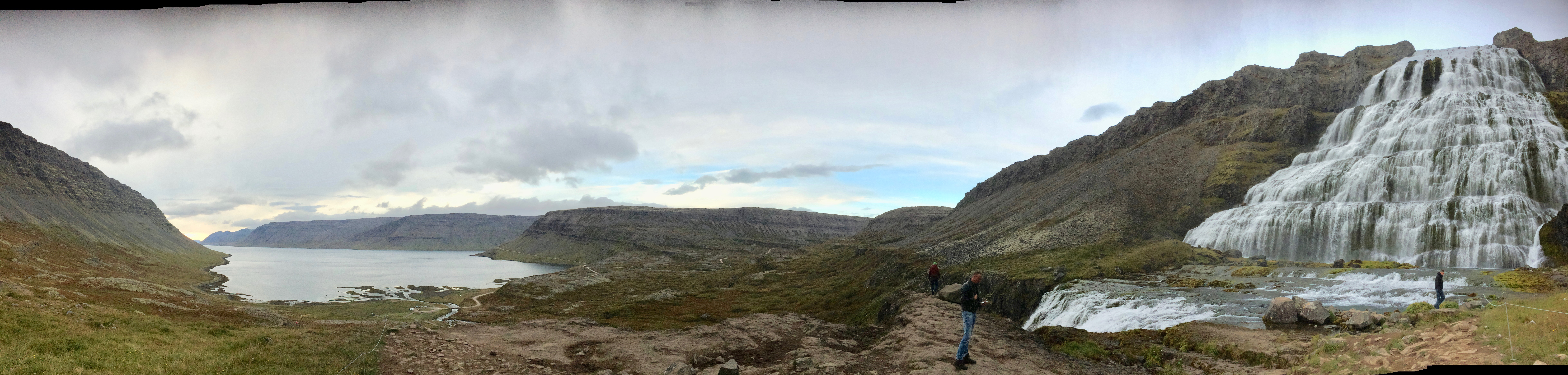 Dynjandi Falls, Iceland