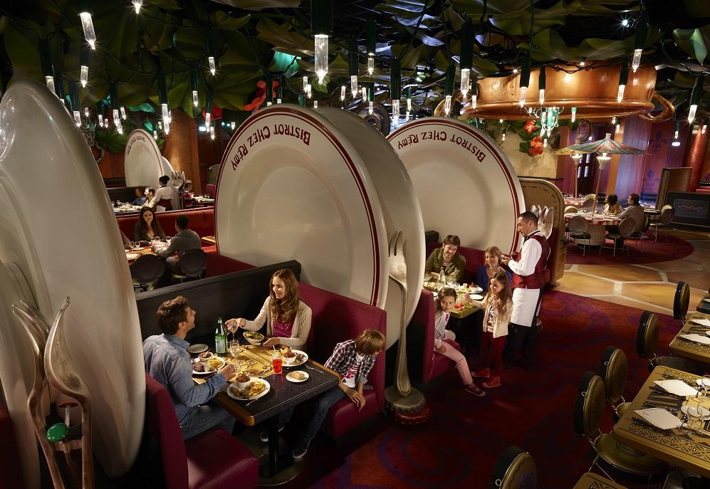Bistro Chez Remy at Disneyland Paris