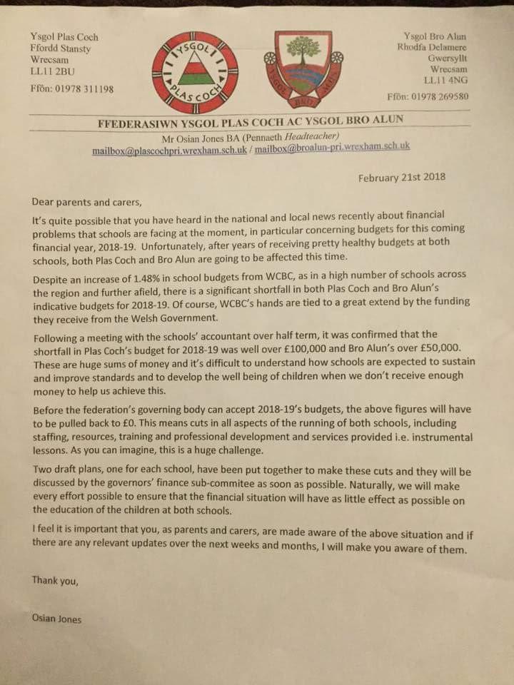 School letter