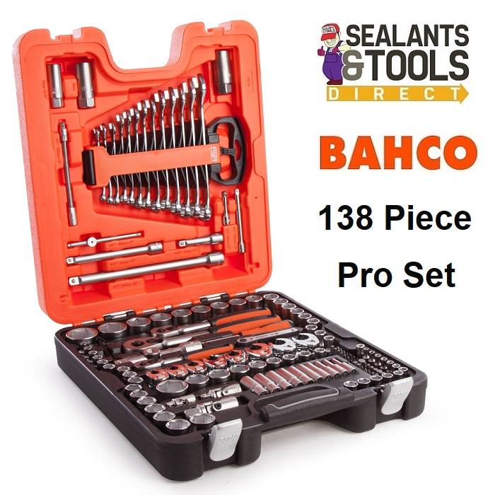 Bahco S138 Socket & Spanner Set 1/4